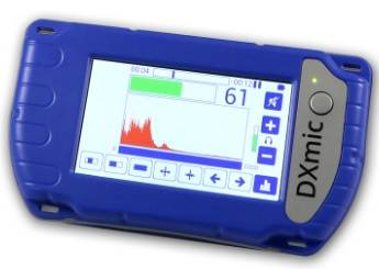 Consola3 detector de fugas de agua DXmic