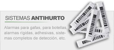 Sistemas antihurto para ópticas, supermercados, tiendas ...