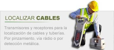 Localizador de cables y tuberías MXL4