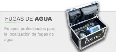 Localizador de fugas de agua DXMIC